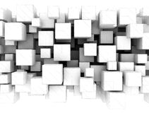 Abstract background - 3d cubes Stock Photo