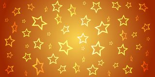 Abstract background from 3d stars on gradient. Vector for your d. Esign vector illustration