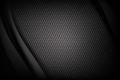 Abstract background dark and black carbon fiber with curve. And layered overlap element vector illustration eps10 vector illustration