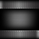 Abstract background dark and black carbon fiber with hold polish. Ed metal texture vector illustration eps10 Stock Photos
