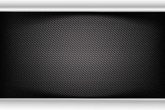 Abstract background dark and black carbon fiber vector illustrat Royalty Free Stock Image