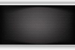 Abstract background dark and black carbon fiber vector illustrat. Ion eps10 Vector Illustration