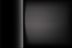 Abstract background dark and black carbon fiber vector illustrat. Ion eps10 Stock Illustration