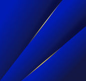 Abstract  background with dark blue layers. And lights effect Royalty Free Stock Photo