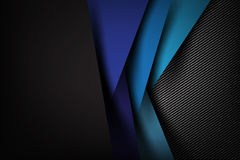 Abstract background dark with carbon fiber texture vector  Stock Photo