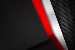 Abstract background dark with carbon fiber texture vector. Abstract background dark and black carbon fiber vector illustration eps10 royalty free illustration