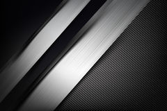 Abstract background dark with carbon fiber texture vector illust. Abstract background dark and black carbon fiber vector illustration eps10 Stock Photos