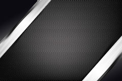 Abstract background dark with carbon fiber texture vector illust. Abstract background dark and black carbon fiber vector illustration eps10 Royalty Free Stock Photography