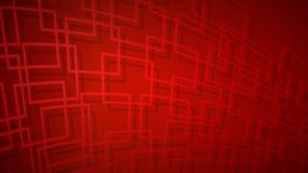 Abstract background of intersecting squares. Abstract background of dark red intersecting squares with shadows in red colors vector illustration