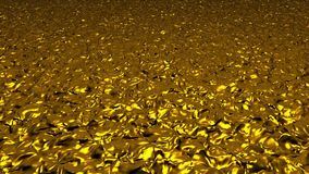 Abstract background in dark yellow color stock video