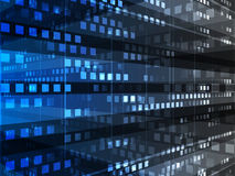 Abstract background. Of database technology Royalty Free Stock Image