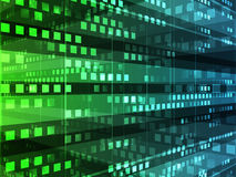 Abstract background. Of database technology Stock Photography