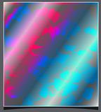 Abstract background. Decorative abstract background with iridescent colors Royalty Free Stock Photo