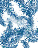 Abstract background. Decorative abstract background with leaves of palm trees are solid, you can use as the background print on the fabric royalty free illustration