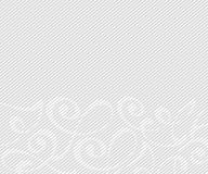 Abstract background with decorative vignettes lines. Vector. Illustration. Space for text.Gray on white Royalty Free Stock Image