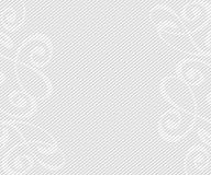 Abstract background with decorative vignettes lines. Vector. Illustration. Space for text.Gray on white Stock Image
