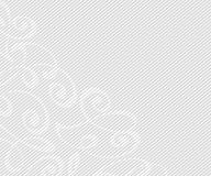 Abstract background with decorative vignettes lines. Vector. Illustration. Space for text.Gray on white Stock Photo