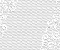 Abstract background with decorative vignettes lines. Vector. Illustration. Space for text.Gray on white Royalty Free Stock Photography