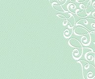 Abstract background with decorative vignettes lines. Vector illustration. Space for text. Green  . Abstract background with decorative vignettes lines. Vector Royalty Free Stock Photo