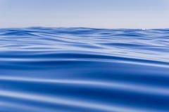 Abstract background deep blue ocean motion Stock Photos