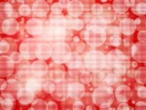 Red defocus abstract background. Abstract background with defocus effect. Vector illustration Stock Image