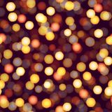 Abstract background with defocused lights. Vector.  Stock Images