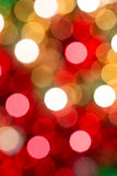 Abstract background with defocused lights Stock Image