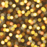 Abstract background defocused night lights. Vector Royalty Free Stock Photography