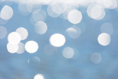 Abstract background of defocused sea surface Royalty Free Stock Photos