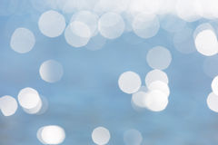 Abstract background of defocused sea surface Stock Photo