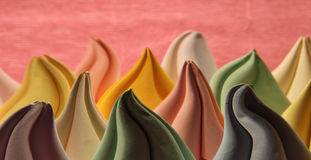 Abstract  background with a deformed paper origami forms Royalty Free Stock Photography