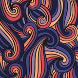 Abstract background with delicate colorful waves. Vector background with a delicate colorful waves for design vector illustration