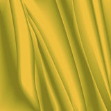 Abstract background with delicate texture in yellow and brown colors. Desert effect, organza texture in the form of crumpled tissu Stock Images