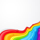 Abstract background for desig. Background for design with abstract forms of different colours Stock Images