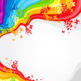 Abstract background for desig. Background for design with abstract forms of different colours vector illustration