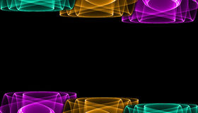 Abstract background design. Lines and meshes Royalty Free Stock Photography