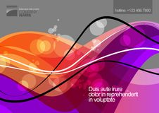 Abstract background design. Vector eps 10 Stock Image