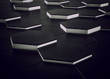 Abstract background design black and white. 3d render. Ing royalty free illustration