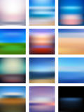 Abstract Background Design with Blurred and Striped Pattern. Vector Royalty Free Stock Image