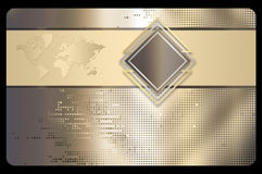 Abstract background for design of business card. Stock Photos