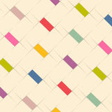 Abstract background design with color elements Stock Image