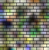 Abstract background design. Creative design of color art brick Royalty Free Stock Photography