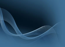 Abstract background for design. Abstract dark blue background for web design and business cards Stock Photography