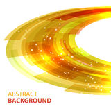 Abstract background design element. Golden abstract  background. Round template. Abstract background for business presentations. Vector Royalty Free Stock Photo