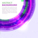 Abstract background design element. Purple abstract  background. Round template. Abstract background for business presentations. Vector Royalty Free Stock Photos