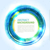 Abstract background design element. Abstract  background. Round template. Abstract background for business presentations. Vector Stock Photo
