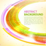 Abstract background design element. Abstract  background. Round template. Abstract background for business presentations. Vector Stock Photography