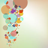 Abstract background with design elements.  Stock Photography