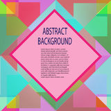 Abstract Background For Design. EPS 10 vector illusion Royalty Free Stock Images