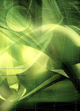 Abstract background design in green tones Stock Photo